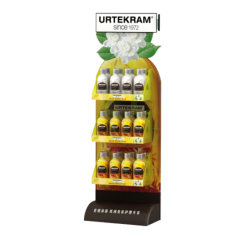 100% Reciclar Papel Kraft Papelão Ondulado Placa favo de favo de mel para o display mostra o suporte de prateleira