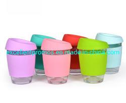 Luva de Silicone reutilizáveis beber café em vidro caneca (EP-C10163)