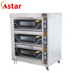 Parte superiore degli apparecchi di cucina un forno elettrico della piattaforma dei cassetti delle piattaforme 6 di serie 3