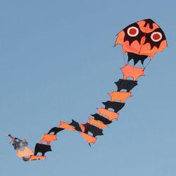 Fácil volar 8m de largo ciempiés Kite