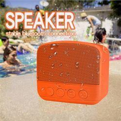 Étanche IPX4 nouvelle Creative Portable Mini Caisson de basses sans fil Bluetooth l'Orateur Outdoor Sound Box Logo personnalisé meilleur cadeau pour Noël
