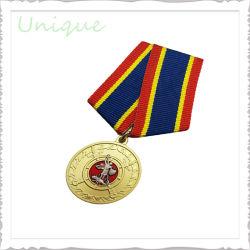 De goedkope In het groot Medailles van de Trofee van Carnaval van de Ambachten van het Metaal van het Leger van het Embleem van de Douane Militaire Gouden voor PromotieProducten