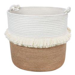 Accueil Panier décoratif de corde de conteneur de stockage