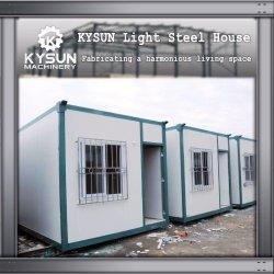 Modulares Fertiglebendes Behälter-Standardhaus für Arbeitslager mit Küche, Toilette, Klinik, Waschung und Krankenhaus
