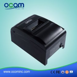 Stampante della ricevuta della matrice a punti di effetto di Ocpp-762-U 76mm con la taglierina manuale