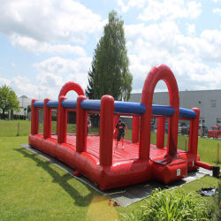 Giant Blow Up New Inflatable Soccer Football Field Court Arena Pitch Factory Price &Nbsp;