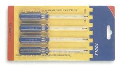 الأدوات 4PCS مجموعة المفك الملون قطاع للهواتف المحمولة (البطاقة الحارقة)