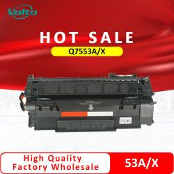 Commerce de gros HP Q7553A Q7553X 53A 53X compatible Cartouche de toner pour imprimante HP Laserjet P2014 P2015 M2727