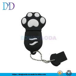 かわいい漫画猫の爪USBのフラッシュ駆動機構2.0