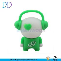 カスタム音楽家USBのフラッシュ駆動機構、PVC