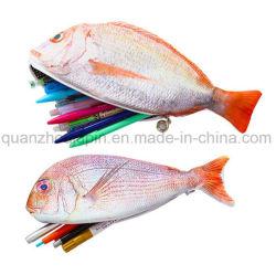 Peixes Artificial OEM Papelaria Lápis Saco de caso