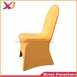 Cheap Polyester Spandex banquete de bodas silla Chiavari/cubierta de tela
