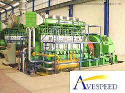 2X800kw HFO/مجموعات مولدات الديزل/مجموعة التوليد كمشروعات محطة طاقة