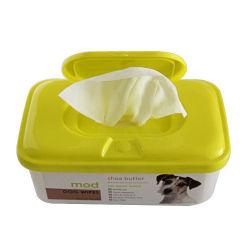 L'éco- sympathique animal de compagnie Mascotas nettoyage antibactérien lingettes humides