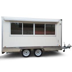 Caravane mobile d'aliments de préparation rapide de restauration à vendre