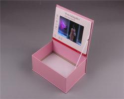 Настраиваемые ЖК-дисплей видео подарочная упаковка для пакета