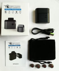 Comercio al por mayor Auriculares Bluetooth 4.1 estéreo Bluetooth Auricular inalámbrico de negocio para el coche Celular auriculares