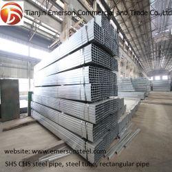 La Chine fournisseur Gi Corps Creux en acier carré galvanisé à chaud du tuyau de feux de croisement pour la vente en gros de tube