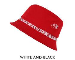 Caçamba de algodão Cacuss personalizado curto Logotipo Bordado a bordo rasante chapéu verão, primavera, outono PAC 5