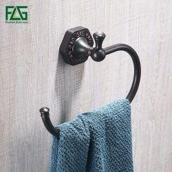 L'olio di Flg ha lucidato l'anello di tovagliolo d'ottone placcato Bronze della stanza da bagno