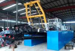 24 de Baggermachine van de Zuiging van de Hydraulische Snijder van de duim voor het Zand van de Rivier