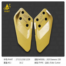 2713-1228/1229 La serie DH150 alicates de corte lateral de la cuchara, Cuchara Protector, excavadora y la cuchara de excavar el diente y el adaptador, piezas de repuesto de la máquina de construcción