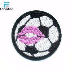 Дешевые футбола Applique Custom утюг вышивка патч