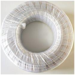 PVC Stainess de plástico reforzado con alambre de acero flexible, manguera de drenaje Tubo de aspiración