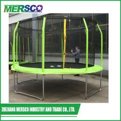 Пользовательские размеры большая круглая батут для детей с предохранительной сетки и корпуса