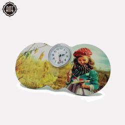 Mejores productos de Ali Baba foto impresa tabla MDF reloj para la decoración de salón