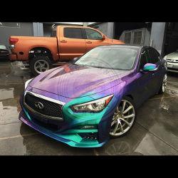 Chameleon Flip de pigments de peinture de voiture de changement de couleur du pigment Pearl pour clous en cuir d'ombre de l'oeil