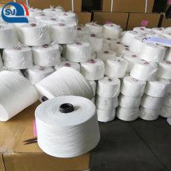 Ткань из микроволокна закрыть Virgin полиэфирных нитей цена производителя (один и витой) (сертификат: Oeko-tex100/GRS/BCI/GOTS)