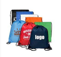 Настраиваемые 210d полиэстер нейлон специальный мешочек оптовой Многоразовый мешок тканый, рюкзак, холст хлопка мешок, спортивный бассейн сувениры, подарочный пакет