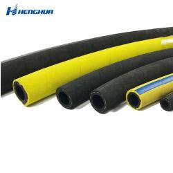 너무 장기 사용 서비스 2 인치 - 높은 압력 호스 2 인치 유압 호스 산업 유연한 고압 유압 강철 금속 땋는 호스