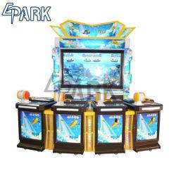 4 Jugadores Videojuegos Arcade Monedas Juego de pesca la máquina