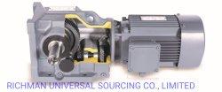 K-Serien-schraubenartiges Getriebe-Spirale-Kegelradgetriebe-Reduzierstück