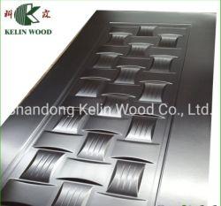 Pelle di legno laminata naturale del portello della melammina di Mouded HDF di prezzi all'ingrosso