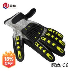 セリウムは安全作業ニトリルの乳液の保護産業反カット・ワークの手袋の新しい割引中国の製造者を証明した