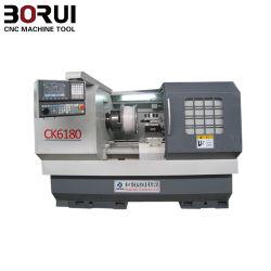 高精度車の合金の車輪修理CNCの旋盤機械(ck6180)