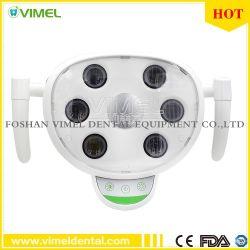 Стоматологическая 6 светодиодов устные лампа индукционные лампа для стоматологических Группы Председателя