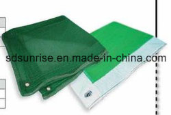 Reciclaje de PET de PE /nuevo material de construcción Red de seguridad