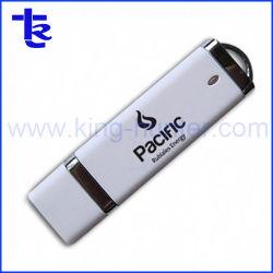 Unidade Flash USB de plástico como dom de memória