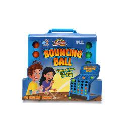 Heißer Verkauf Kinder Tischspiele Verbinden Sie Vier Schüsse Brettspiel Hüpfball für Party