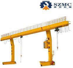 倉庫のための持ち上がるツールMdgモデルLタイプ門脈の単一のガードのガントリークレーン容量5トン