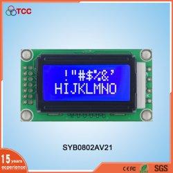 도매 문자 8X2 Stn 디스플레이 화면 I2C 인터페이스 LED 백라이트가 있는 14핀 LCD 모듈