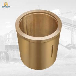 Commerce de gros de la bague de bride de Bronze personnalisé collier en cuivre bague en bronze