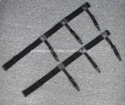 Stock chemise noire Suspender Mens chemise rayée réglable