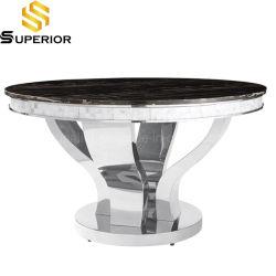 Inglés de alta calidad de Muebles de Comedor Mesa de mármol negro