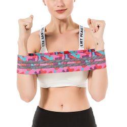 Идеальный красочные Hip-фитнес-сопротивление контура полосы для женщин, леди, девушек, пользовательское обозначение Сублимация Снимите эластичный печати тренировки осуществлять полосы Manufactory