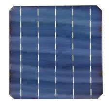 Pila solare a energia solare solare 156.75mm*156.75mm di Mario 5bb alta Efficiencys mono 19.6%-21.4% cellule solari al silicio monocristalline di Perc del taglio mezzo